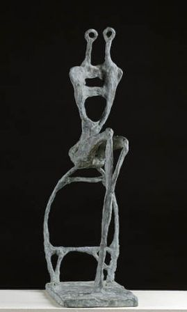 Couple Assis  - bronze - 60 x 20 x 22 cm