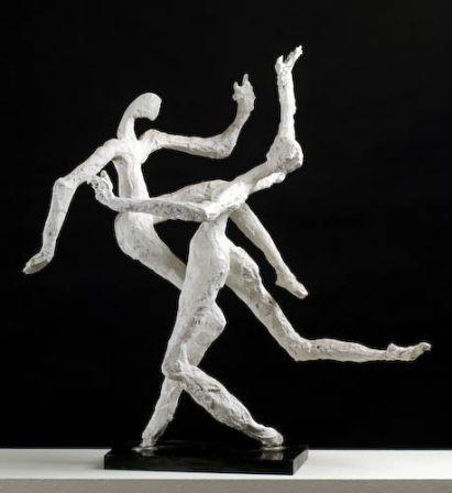 Ballerini - plâtre armé - 58 x 55x 35 cm