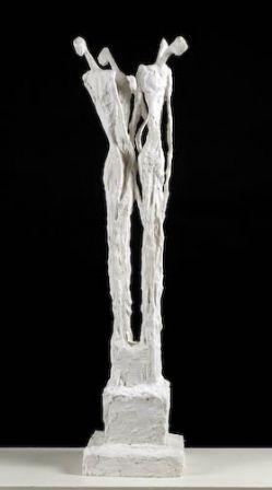 Gargouille Debout - plâtre armé - 94 x 24 x 24 cm